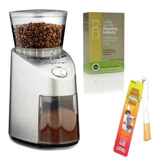 Capresso 565.05 Infinity Burr Grinder with Brush and 3-pack Cleaner https://ak1.ostkcdn.com/images/products/8533403/Capresso-565.05-Infinity-Burr-Grinder-with-Brush-and-3-pack-Cleaner-P15814613.jpg?impolicy=medium