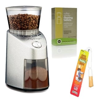 Capresso 565.05 Infinity Burr Grinder with Brush and 3-pack Cleaner