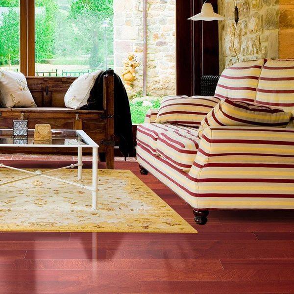 Shop Envi Exotic Hazelnut Sapele Engineered Flooring Free Shipping