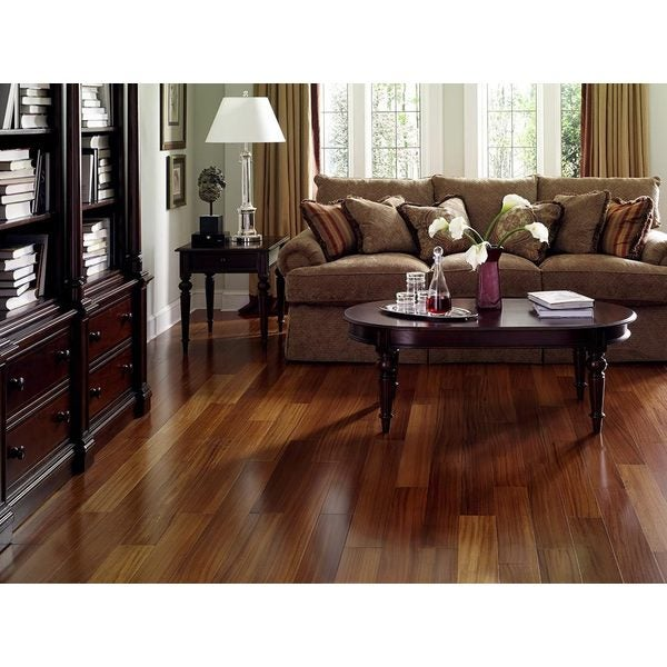 Envi Exotic Brazilian Teak Ez Click Hardwood Flooring Sq Ft Free Shipping Today