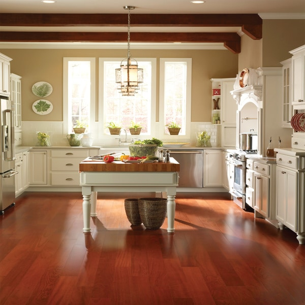 Exotic classic brazilian cherry sq ft hardwood for Hardwood floors 600 sq ft