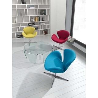 Pori Modern Carnelian Red Arm Chair