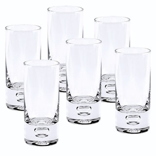 Link to Galaxy Mouth Blown Lead Free Crystal 2.5 oz. Shot Glasses (Set of 6) Similar Items in Glasses & Barware
