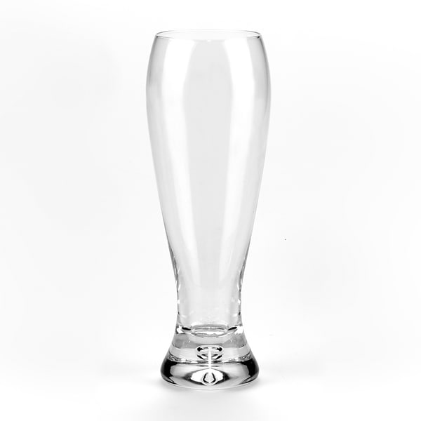 Mouth Blown Galaxy Pilsner 16 oz. Glasses (Set of 4)