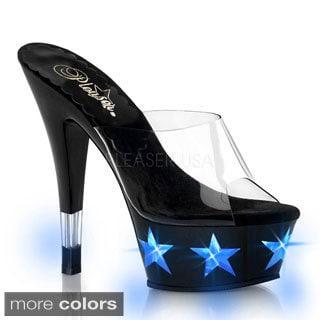 Pleaser Women's 'Kiss-201LT4' Light-up Platform Heels