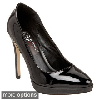 Pleaser Women's 'Bliss-30' Black Pumps
