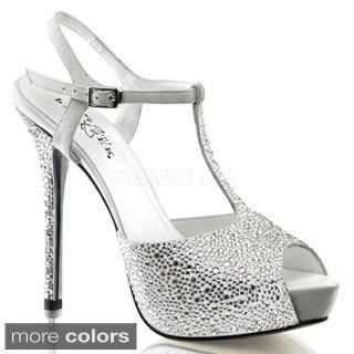 Pleaser Day & Night 'Prestige-Women's T-Strap Heels