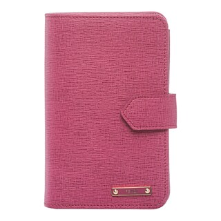 Fendi 'Crayons' Fuchsia Leather Bi-fold Wallet