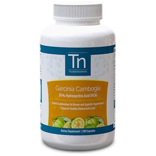 Trusted Nutrients 100 Pure Garcinia Cambogia (240 Capsules)
