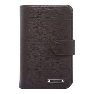 Fendi 'Crayons' Deep Purple Leather Bi-fold Wallet