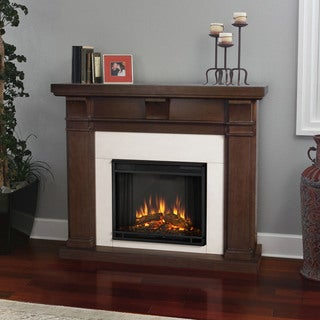 Real Flame Vintage Black Maple Porter Electric Fireplace