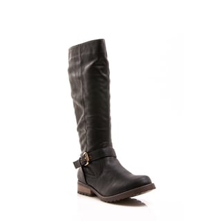 Women's 'Apple Ranch' Black Knee-high Riding Boots