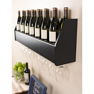 Floating Black Wine Rack|https://ak1.ostkcdn.com/images/products/8533870/P15814988.jpg?impolicy=medium