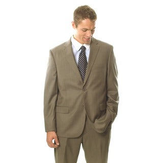 Caravelli Men's Light Brown 2-button Notch Collar Suit