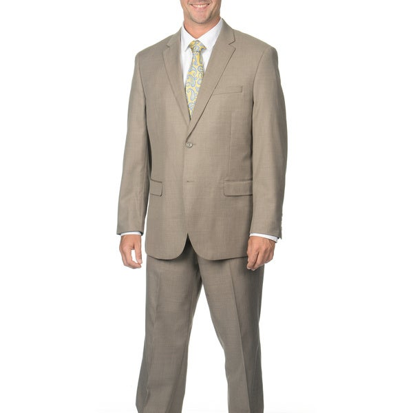 Tan/Beige Men's Suits at Macy's come in all styles and sizes. Shop Tan/Beige Men's Suits and get free shipping w/minimum purchase! Macy's Presents: The Edit- A curated mix of fashion and inspiration Check It Out. Tallia Orange Men's Modern-Fit Light Taupe Sharkskin Suit.