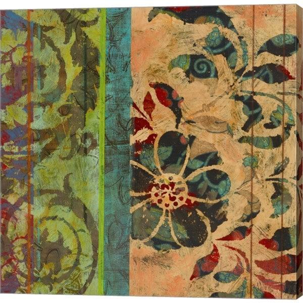 Ciela Bloom 'Bohemian Blossom' Canvas Art