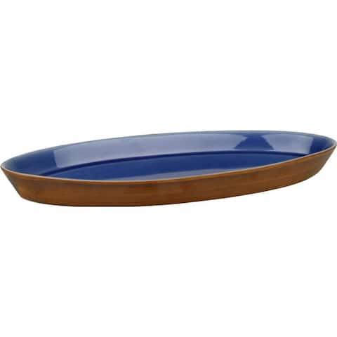 Waechtersbach 'Pure Nature' Blue Oval Platter