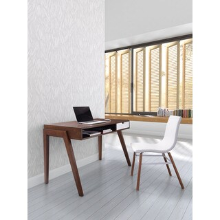 Linea Walnut Finish Desk