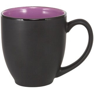Bistro Purple Ceramic Mugs (Set of 4)