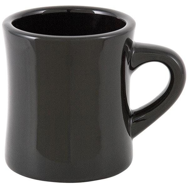 Black Diner Mug (Set of 4)