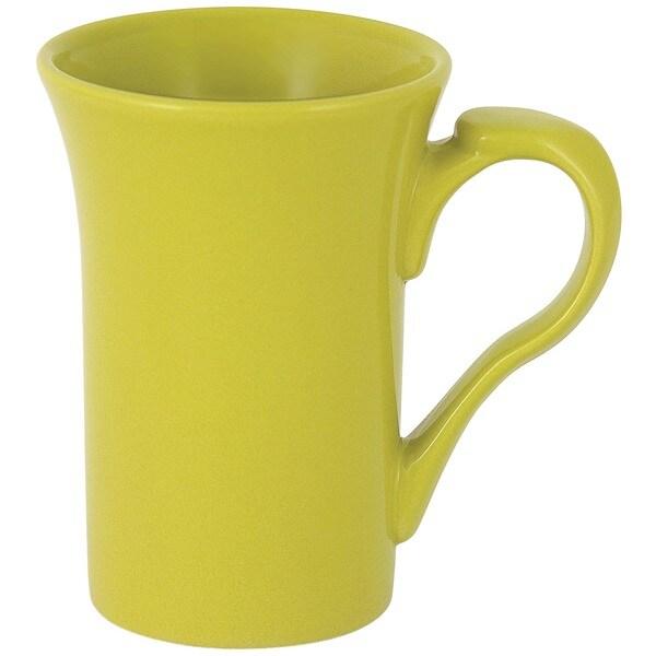 Flair Rim Green Mug (Set of 4)