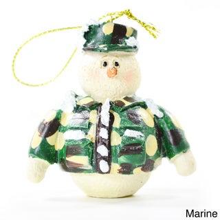 Military Holiday Tree Ornaments