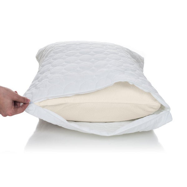 remedy water and bed bug proof cotton pillow protector With bed bug mattress and pillow protectors