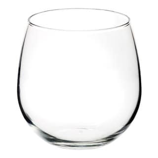 Stemless Red Wine Glass Set of 4