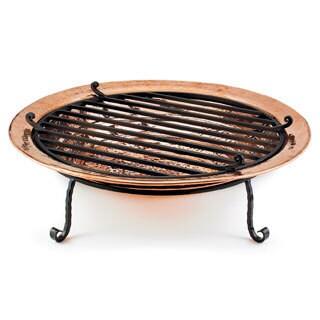 Medium Polished Copper Fire Pit