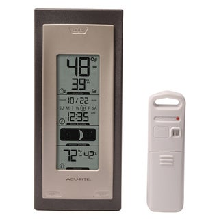 AcuRite Digital In/Outdoor Thermometer and Humidity Monitor