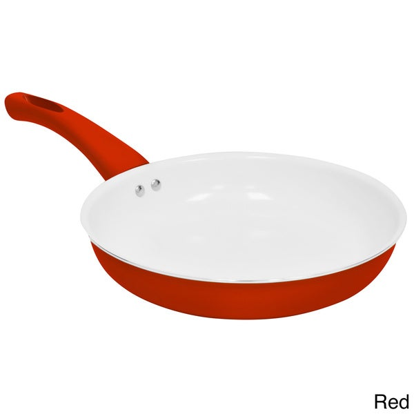 Shop Ceramic Coated 11 Inch Non Stick Aluminum Fry Pan