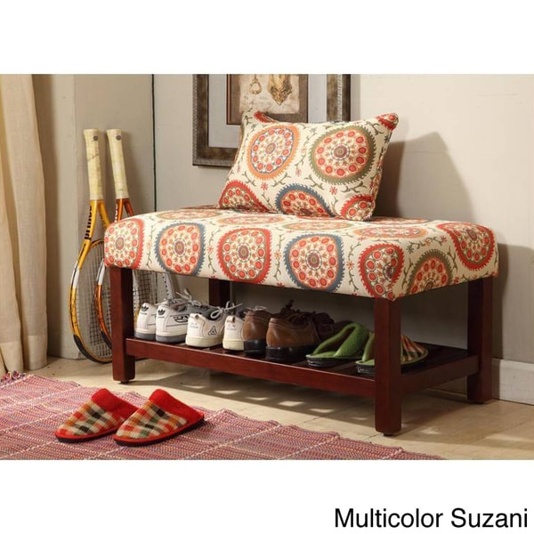 Shop Homepop Entryway Bench On Sale Free Shipping