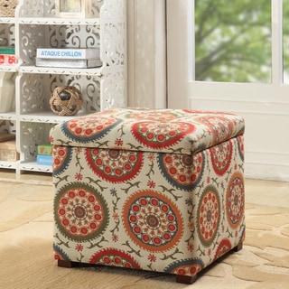 HomePop Fashion Storage Ottoman