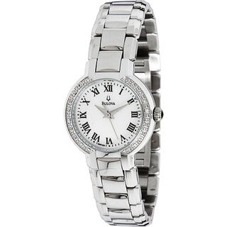 Bulova Women's 96R159 Diamond-Accent Dress Watch
