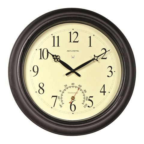 Acu-rite 18-inch Outdoor Atomic Wall Clock