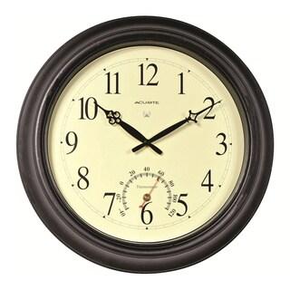 Acu-rite 18-inch Outdoor Atomic Wall Clock