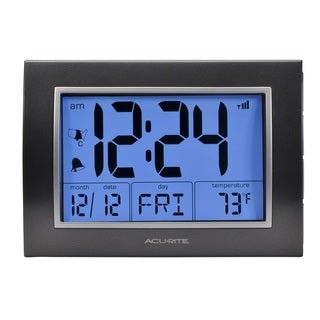 AcuRite Atomic Alarm Clock with Time and Date