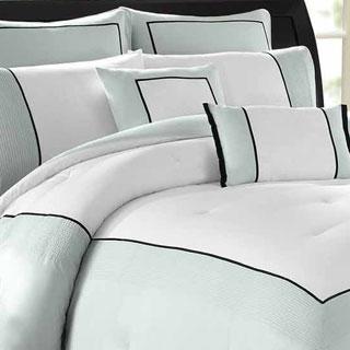 Soho New York Home Hotel Cotton 8-piece Comforter Set
