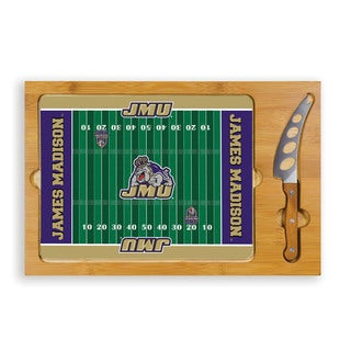 James Madison University Dukes Football Icon Cheese Tray