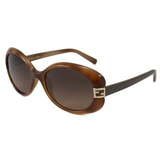 Italian Fendi Women's FS5171 Oval Sunglasses
