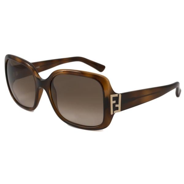 5372636d71d7 Shop Fendi Women s FS5234 Rectangular Sunglasses - Free Shipping ...