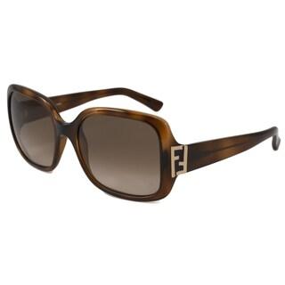 Fendi Women's FS5234 Rectangular Sunglasses