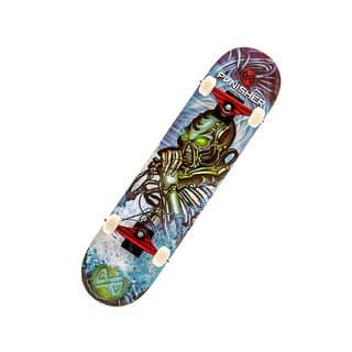 Punisher Skateboards Alien Rage 31.5-inch Skateboard with Concave Deck|https://ak1.ostkcdn.com/images/products/8536970/Punisher-Skateboards-Alien-Rage-31-inch-Skateboard-with-Concave-Deck-P15817546.jpg?impolicy=medium