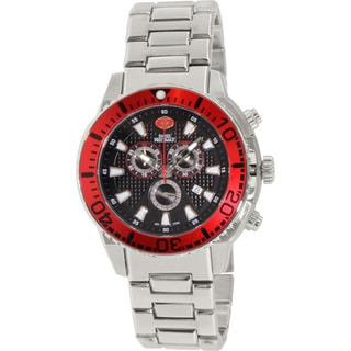 Swiss Precimax Men's Pulse Pro Stainless Steel Screw-down Chronograph Watch