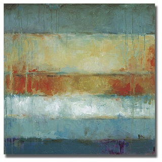 Wani Pasion 'Color Block' Canvas Art