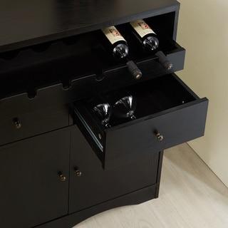 Furniture of America Transitional Storage Bar/ Buffet
