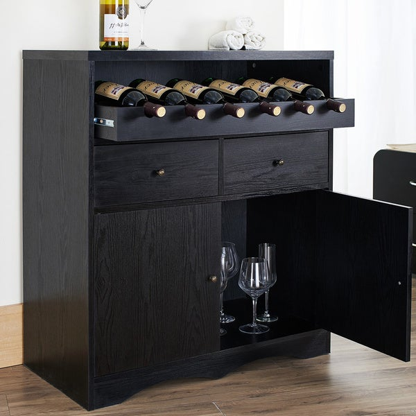 Furniture Of America Transitional Storage Bar Buffet