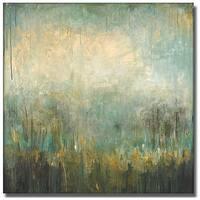 Wani Pasion 'Jardin Vert' Canvas Art
