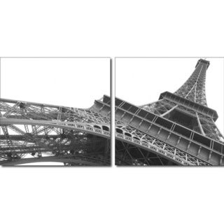 Baxton Studio Sculptural Majesty Mounted Photography Print Diptych