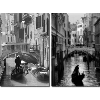 Iconic Italy Mounted Photography Print Diptych